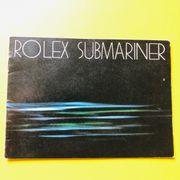 Rolex Submariner Booklet 1981 Deutsch