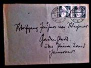 Gelaufener Brief Deutsches Reich