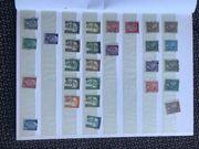 Briefmarken aus Sammlung zu verkaufen