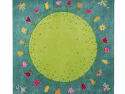 Wunderschöner Kinder - Teppich Blumenplanet