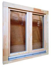 Holzfenster 100x100 cm bxh Europrofil