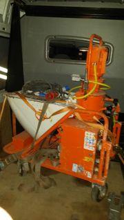 PFT G5 Putzmaschine Fliesestrichmaschine Estichmaschine
