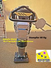 Stampfer Mieten 60 Kg Weber