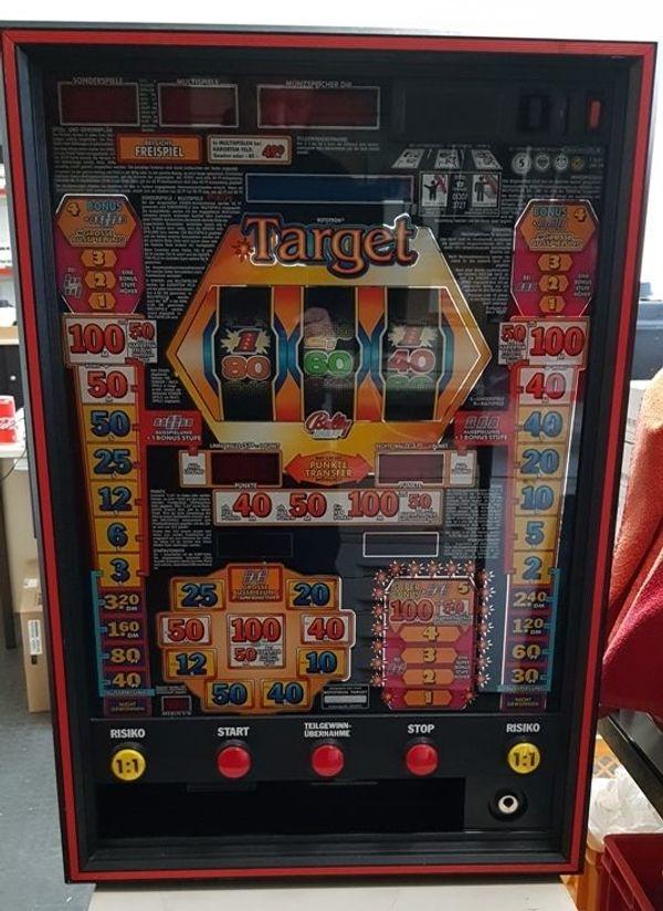Spielautomat Bally Wulff Rototron Target