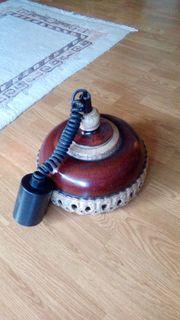 Küchenlampe aus Ton Lampe