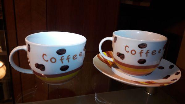 2 Stck Espressotassen Mokkatassen Kaffeetassen