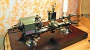 Uhrmacherdrehmaschine Watchmakers lathe Boley Leinen