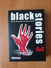 black stories 3 neuwertig