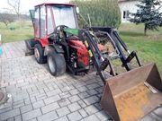 Kleintraktor Knicklenker Frontlader AGT 835