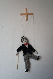Charlie Chaplin Marionette von Porcelain