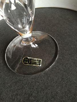 Glas, Porzellan antiquarisch - Vase Bleikristall