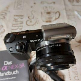 Sony NEX-5R, Systemkamera, Spiegelreflex, top Zustand