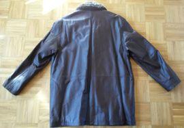 Leder-/Pelzbekleidung, Damen und Herren - Neuwertige Herrenlederjacke in braun Gr