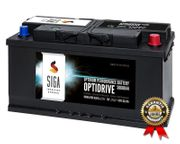 SIGA Autobatterie 100Ah 850A Batterie