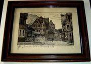 2 x Bacharach Altes Haus