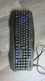 Neuwertig Gaming Tastatur uRage Anti