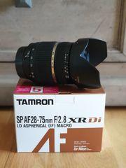 Objektiv Tamron 28-75 F2 8