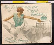 Altes Reklame Papp Plakat Ludwig