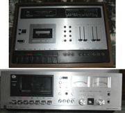 2 x Dual Kassettenrecorder C819