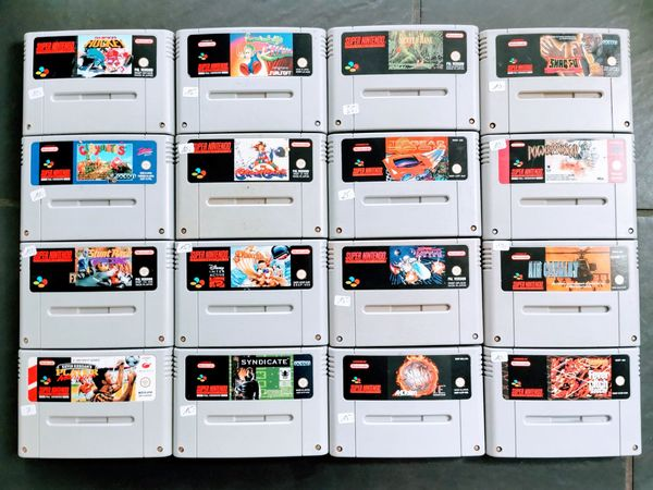 SNES Super Nintendo Spiele