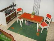Frade Eßzimmermöbel für Puppenküche Puppen-Puppenstube-Puppenhaus
