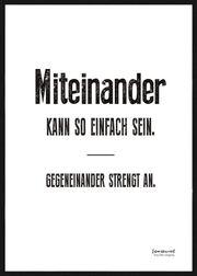 Verkaufe Spruchbilder Poster - schwarz-weiß-bunt -NEU
