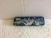 Stiftbox Metalldose mit Einlegefach