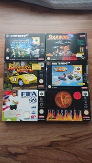 Nintendo 64 Spiele 6 Stück