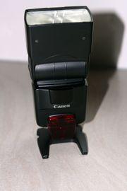 canon speedlite 550-EX Blitzgerät Digitalkameras