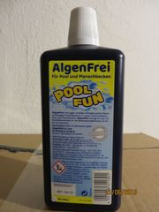 Poolmittel Algenfrei