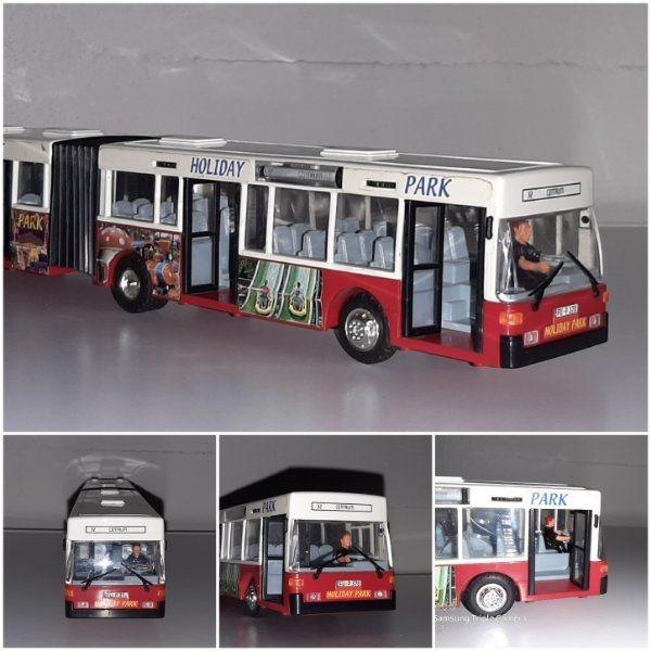 DICKIE - Spielzeugbus Gelenkbus Holiday Park