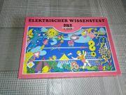 DDR Spiel Elektrischer Wissenstest