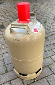 Gasflasche 11 kg - grau - leer