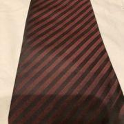 Herrn Krawatte Farbe Schwarz Rot