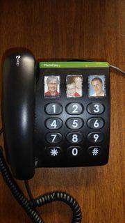 Doro PhoneEasy 331ph Schnurgebundenes Großtastentelefon