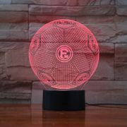 Fortuna Düsseldorf LED 3D Lampe