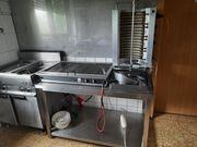 Gastronomieauflösung Komplett eingerichtete Küche zu