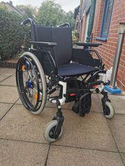 Rollstuhl DIEZ mit V-Max Antrieb