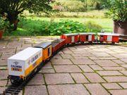 LGB Güterwagen geschlossen halbhoch
