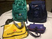 Diverse Rucksäcke Taschen auch einzeln