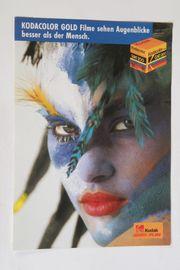 Kodak Werbeblatt Plakat Unser aktuelles