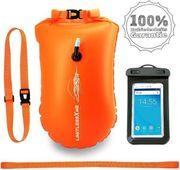 Schwimmboje Trockensack - 25l Orange Sicherheit