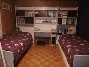 Wandschränke Schreibtisch 2 Bette