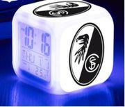 SC Freiburg LED Digital Uhr