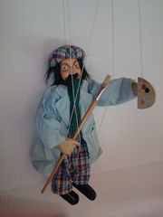 Dekorative Marionetten-Figur