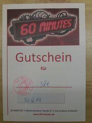Gutschein für Rätselraum in Bonn