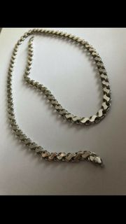 Silber kette zu verkaufen Neu