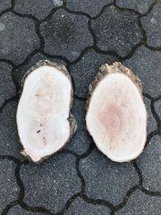 Holzscheibe Baumscheibe je20 Birnbaum Tischdeko
