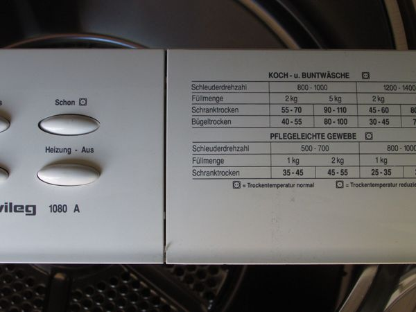 Ersatzteile für trockner privileg 1080 a in hagenbüchach kaufen