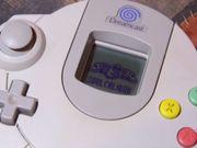 Dreamcast Controller VMU Memory Card